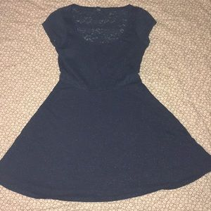 American Eagle Jersey and lace dress
